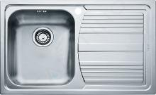 Franke Logica - Lavello in acciaio inox LLX 611/2, 790x500 mm 101.0120.187