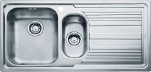 Franke Logica - Lavello in acciaio inox LLX 651/2, 1000x500 mm 101.0120.189