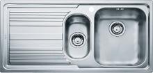 Franke Logica - Lavello in acciaio inox LLX 651/7, 1000x500 mm 101.0120.190