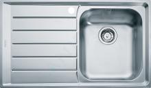 Franke Neptun - Lavello in acciaio inox NEX 611/7, 860x510 mm 101.0120.272