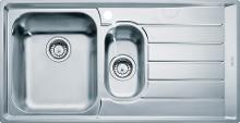 Franke Neptun - Lavello in acciaio inox NEX 651/2, 1000x510 mm 101.0120.275