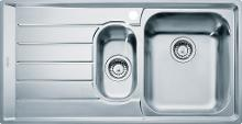 Franke Neptun - Lavello in acciaio inox NEX 651/7, 1000x510 mm 101.0120.276
