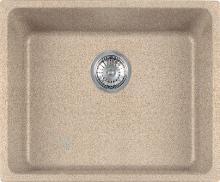 Franke Kubus - Évier en granit KBG 110-50, 540x440 mm, sable 125.0176.654