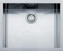 Franke Planar - Drez PPX 110-52 z nehrdzavejúcej ocele, 560 mmx450 mm 122.0203.471