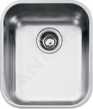 Franke Zodiaco - Dřez ZOX 110-36, 392x425 mm, nerez 122.0021.441