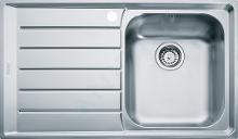 Franke Neptun - Lavello in acciaio inox NEX 211/7, 864x514 mm + sifone 127.0059.655