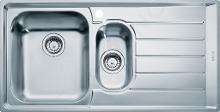 Franke Neptun - Lavello in acciaio inox NEX 251/2, 1004x514 mm 127.0059.658