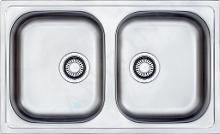 Franke Euroform - Lavello in acciaio inox EFN 620-78, 780x475 mm + sifone 101.0120.102