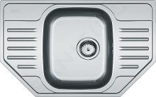 Franke Polar - Drez PXN 612 E z nehrdzavejúcej ocele, 780x490 mm 101.0252.180