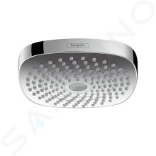 Hansgrohe Croma Select E - Hoofddouche 180, 2jet EcoSmart 9l/min, chroom 26528000