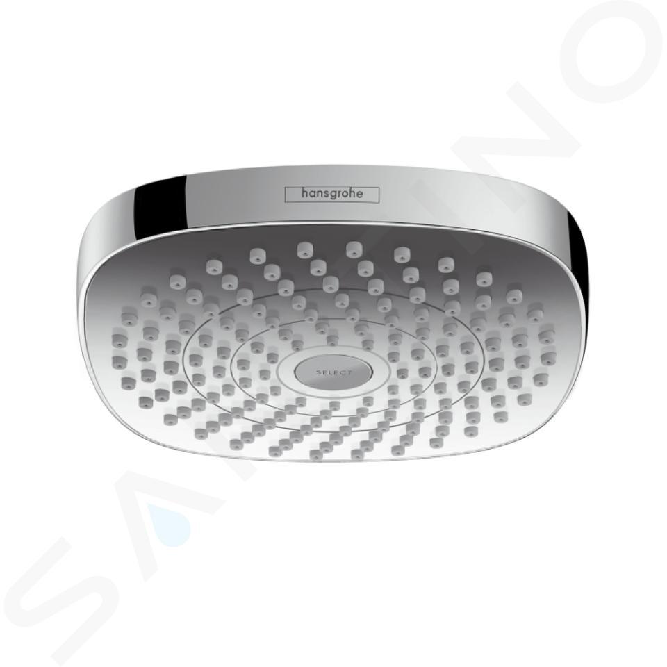 Hansgrohe Croma Select E - Hoofddouche 180, 2jet EcoSmart 9l/min, chroom 26528000