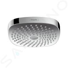 Hansgrohe Croma Select E - Kopfbrause, 180 mm, 2 Strahlen, verchromt 26524000