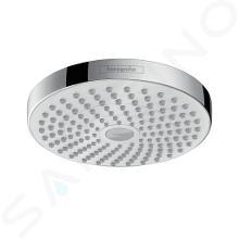 Hansgrohe Croma Select S - Kopfbrause 180, 2jet, weiß / verchromt 26522400