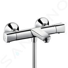 Hansgrohe Ecostat Universal - Mitigeur thermostatique de baignoire pour 2 sorties, chrome 13123000
