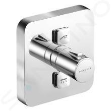 Kludi Push - Thermostatarmatur - Unterputz, für 2 Verbraucher, chrom 388110538