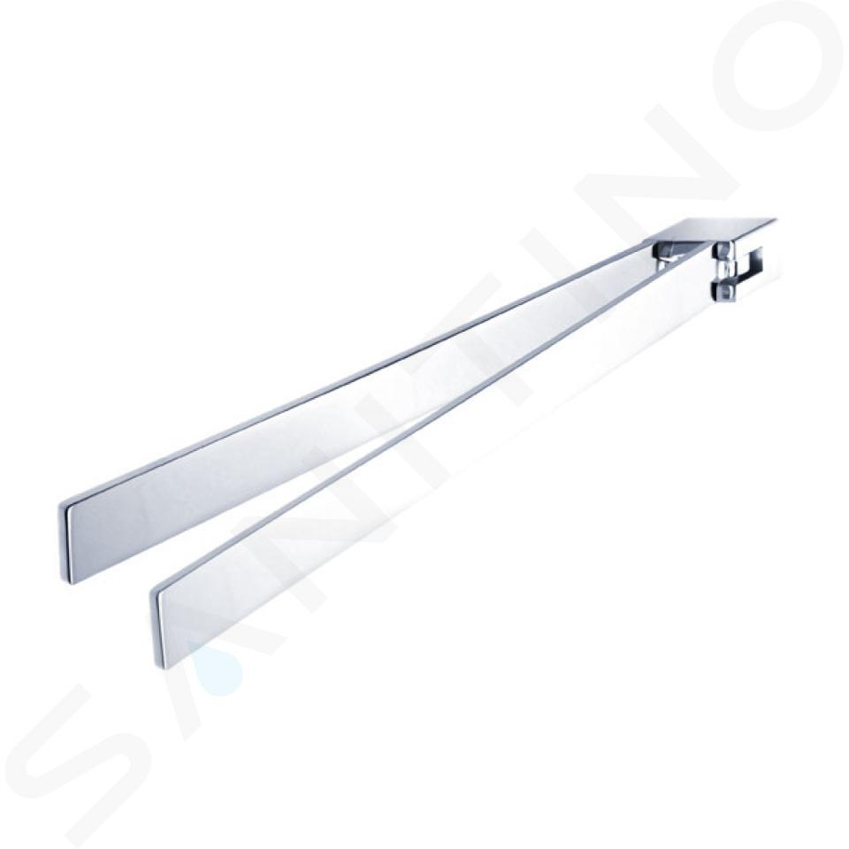 Nimco Kibo - Držák ručníků otočný, délka 375 mm, chrom Ki 14096-26