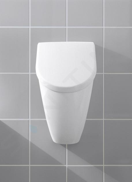 Villeroy & Boch Aveo - Urinoir voor dekseluitvoering, CeramicPlus, alpine wit 751301R1