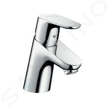 Hansgrohe Focus E2 - Miscelatore monocomando 70 per lavabo, con sistema di scarico a tirante, cromato 31730000