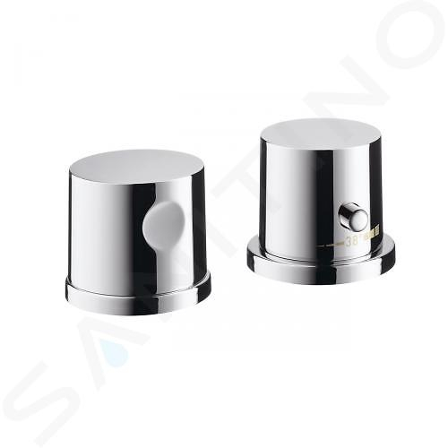 Axor Uno - Afbouwset voor 2 gats badrandthermostaat, chroom 38480000