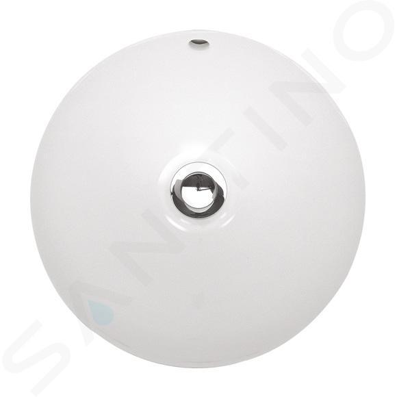 Villeroy & Boch Loop&Friends - Unterbauwaschtish, ohne Hahnloch, Durchschnitt 280 mm, Weiß, mit Überlauf, mit Ceramicplus 618028R1