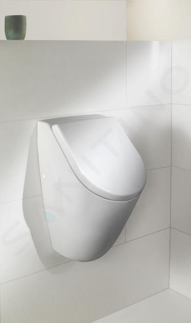 Villeroy & Boch Subway 2.0 - Urinoir voor dekseluitvoering, alpine wit 75130101