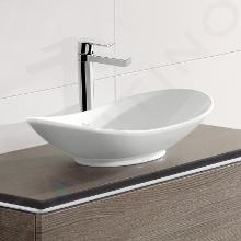 Villeroy & Boch My Nature - Aufsatzwaschbecken, ohne Hahnloch,  610x360 mm, Weiß, ohne Überlauf, mit Ceramicplus 411060R1