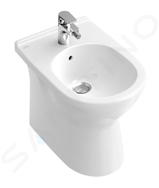 Villeroy & Boch O.novo - Staand bidet 360x560x400 mm, 1 met kraangat, alpine wit 54610001