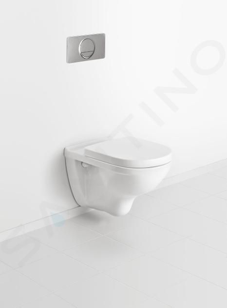 Villeroy & Boch O.novo - Wandcloset, CeramicPlus, alpine wit 566010R1