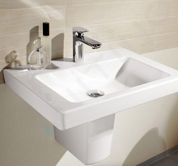 Villeroy & Boch Subway 2.0 - Waschbecken mit Überlauf, 650x470 mm, CeramicPlus, Alpinweiß 711365R1