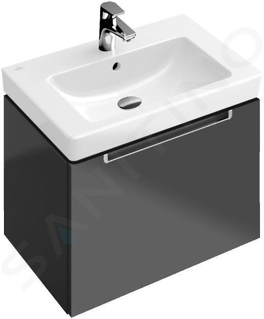 Villeroy & Boch Subway 2.0 - Waschbecken ohne Überlauf, 650x470 mm,  Alpinweiß 7113FB01