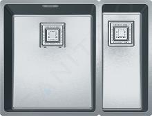 Franke Centinox - Nerezový dřez CMX 160-34-17, 565x440 mm 122.0363.276