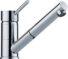Franke Küchenarmaturen - Spültisch Einhebelmischer FG 7486.031 mit ausziehbarem Auslauf, chrom 115.0297.486