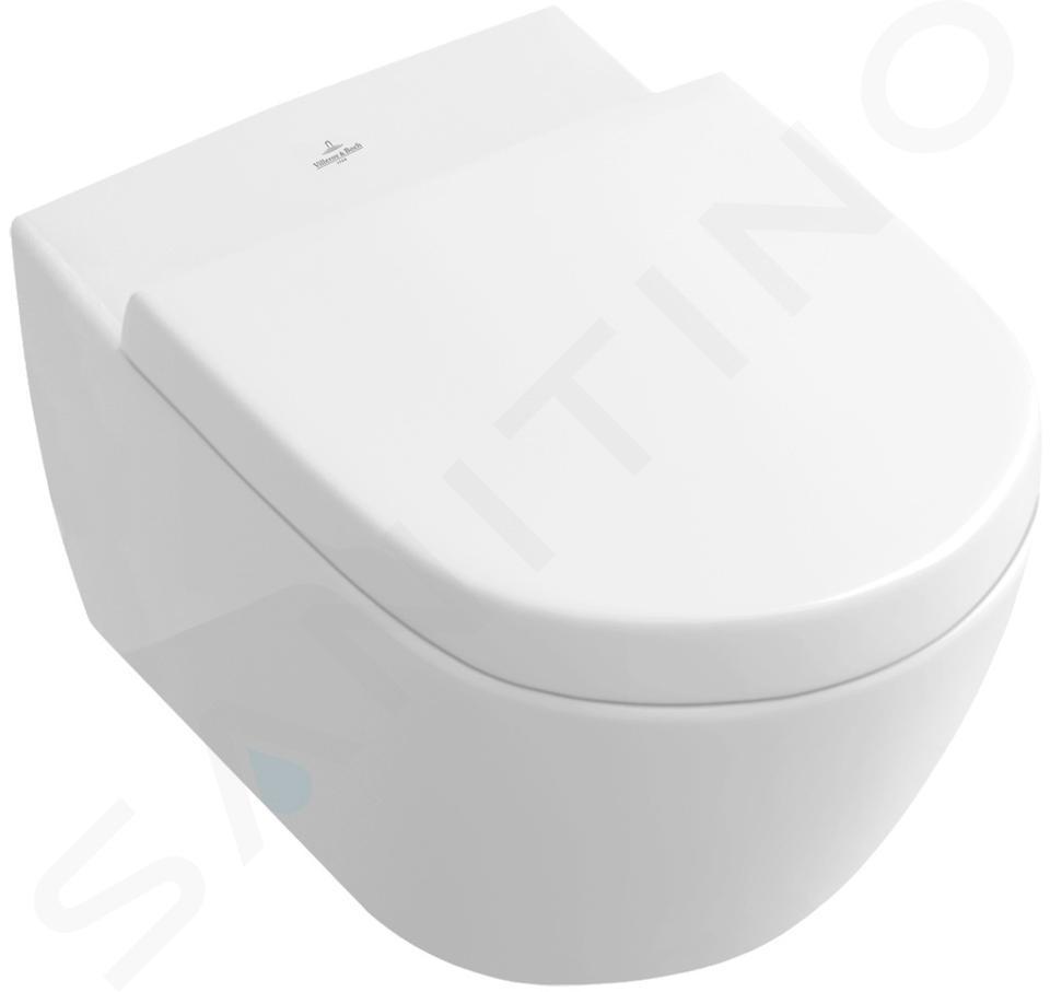 Villeroy & Boch Subway 2.0 - WC suspendu, DirectFlush, CeramicPlus, blanc alpin 5614R0R1