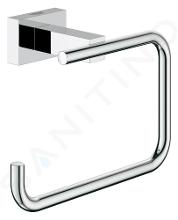Grohe Essentials Cube - Closetrolhouder, chroom 40507001