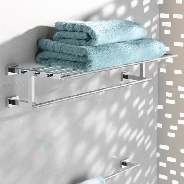 Grohe Essentials Cube - Držák na osušky, chrom 40512001