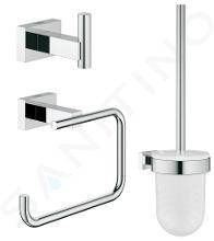Grohe Essentials Cube - Kit d'adaptateurs, chrome 40757001
