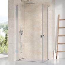 Ravak Chrome - Sprchové dveře CRV1-90, 880-900 mm, satin/čiré sklo 1QV70U01Z1
