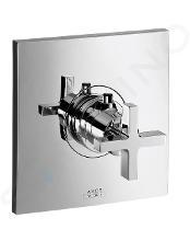 Axor Citterio - Highflow termostatická baterie pod omítku, chrom 39716000