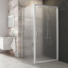 Ravak Blix - Sprchová stena pevná, jednodielna, 770-790 mm, biela/sklo grape 9BH40100ZG