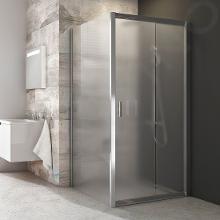 Ravak Blix - Sprchová stena pevná, jednodielna, 770-790 mm, lesklý hliník/sklo grape 9BH40C00ZG