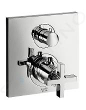 Axor Citterio - Termostatická baterie pod omítku s uzavíracím ventilem, chrom 39705000