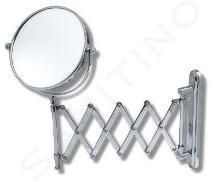 Novaservis Kúpeľňové doplnky - Kozmetické zrkadlo zväčšovacie, vyťahovacie, chróm 6968,0