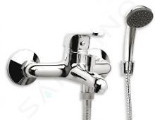 Novaservis Ferro Smile - Robinetterie de baignoire avec accessoires, chrome 71020,0