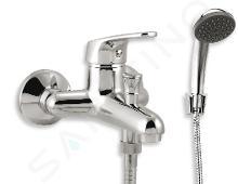 Novaservis Ferro Smile - Robinetterie de baignoire avec accessoires, chrome 71024,0