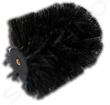 Novaservis Metalia 11 - WC kartáč šroubovací, chrom/černá 0133,SP05