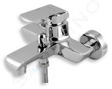 Novaservis Nobless Kvadro - Robinetterie de baignoire sans accessoires 150 mm, chrome 35020/1,0