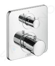 Axor Citterio M - Afdekset voor thermostaat met met stop- en omstelkraan, chroom 34725000