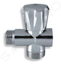 """Novaservis Rohové ventily - Práčkový ventil pod stojančekovú batériu 1/2""""x3/4""""x3/4"""", chróm CF3019A"""