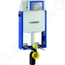 Geberit Kombifix - Bâti-support pour WC suspendu avec plaque de déclenchement Sigma01, chrome mat + Ideal Standard Quarzo – cuvette et abattant 110.302.00.5 ND3