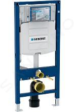 Geberit Duofix - Installationselement für Wand-WC mit Betätigungsplatte SIGMA01, Chrom matt + Ideal Standard Quarzo- WC und WC Sitz 111.300.00.5 NR3